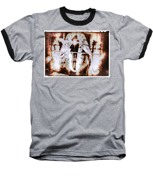Angels In The Mirror Baseball T-Shirt