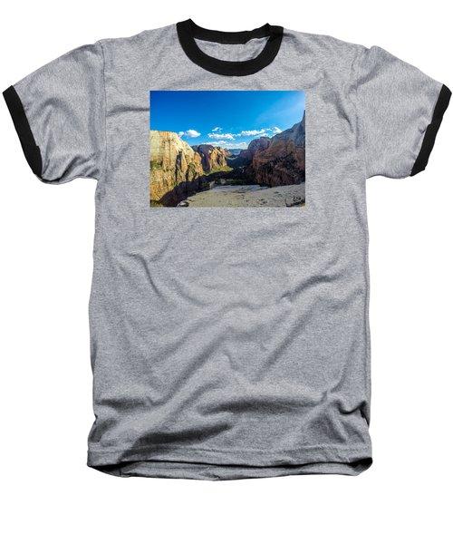 Angels Landing Baseball T-Shirt by Alpha Wanderlust