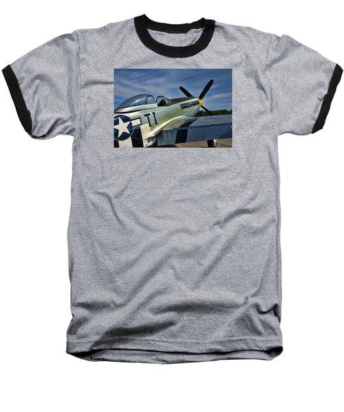 Angels Playmate P-51 Baseball T-Shirt