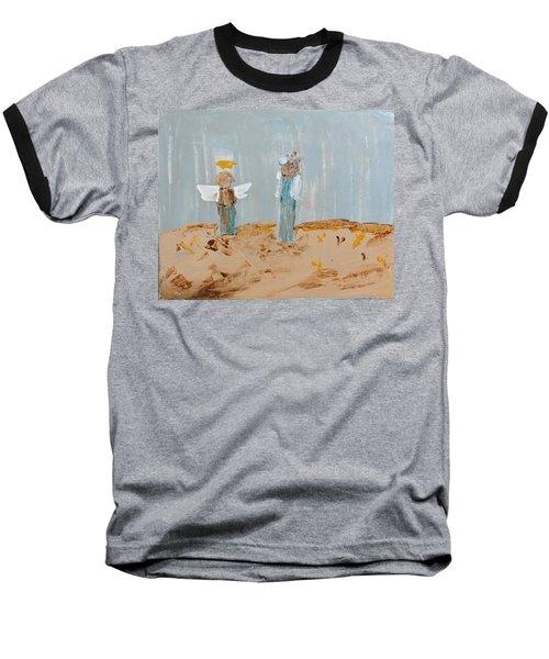 Angels Taking Care Of E Baseball T-Shirt