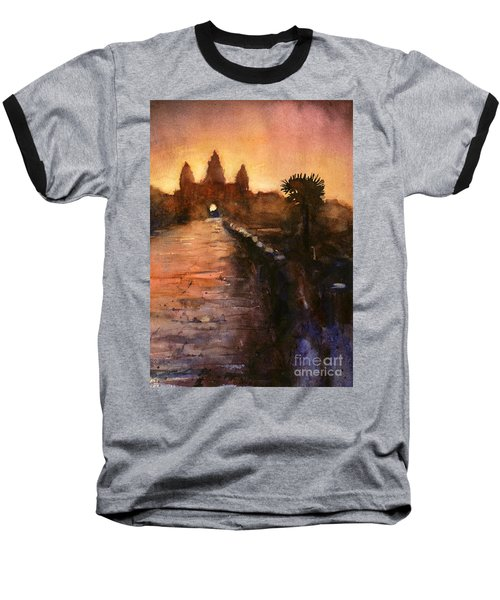 Angkor Wat Sunrise 2 Baseball T-Shirt