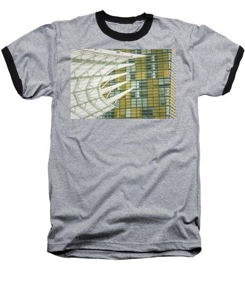 Angle Baseball T-Shirt by Bobby Villapando