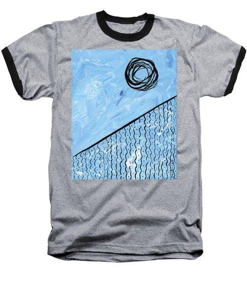Angle Of Repose Vertical Baseball T-Shirt