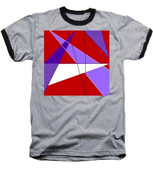 Angles And Triangles Baseball T-Shirt by Tara Hutton
