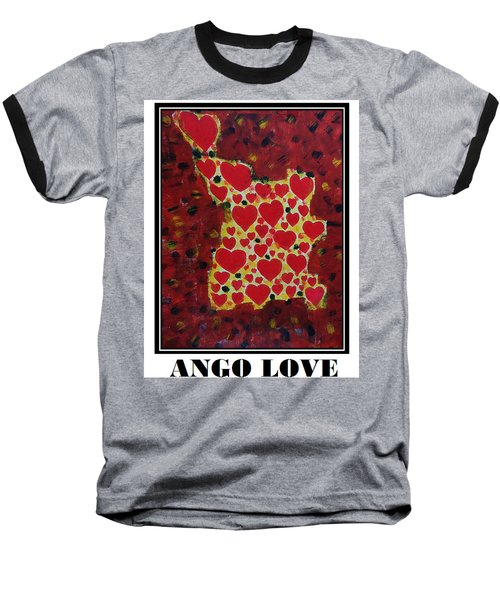 Ango Love Baseball T-Shirt