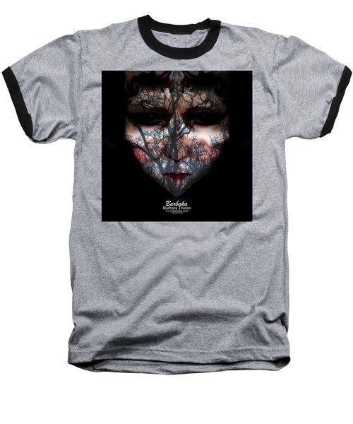 Angry Monster Child #4 Baseball T-Shirt