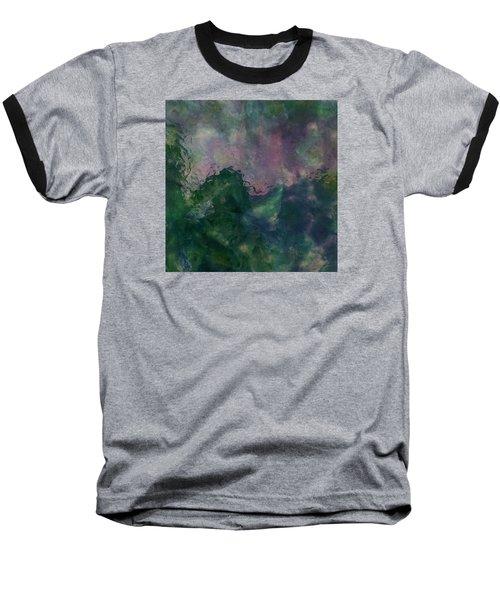 Angry Ocean Baseball T-Shirt