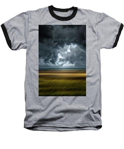 Angry Sky Baseball T-Shirt