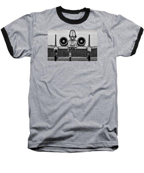 Angry, Wet Hog Baseball T-Shirt