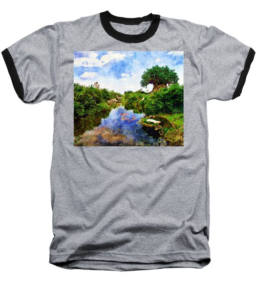 Animal Kingdom Tranquility Baseball T-Shirt
