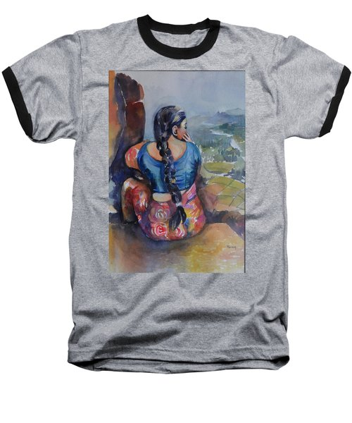 Anjani At Hampi Baseball T-Shirt