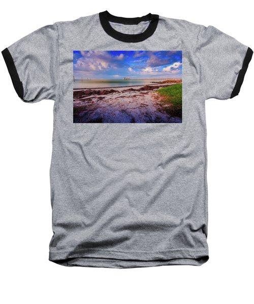 Anna Maria City Pier Baseball T-Shirt