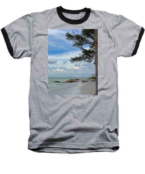 Anna Maria Island  Baseball T-Shirt by Jean Marie Maggi