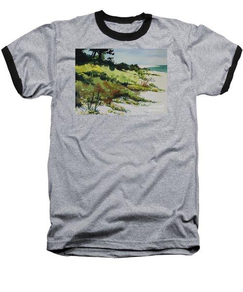 Anna Marie Island Baseball T-Shirt by Elizabeth Carr