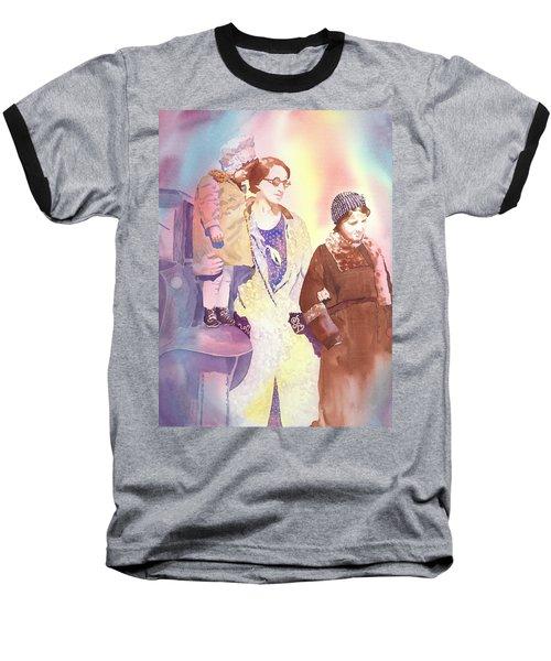 Anna Nation And Her Girls, 1932      Baseball T-Shirt by Tara Moorman