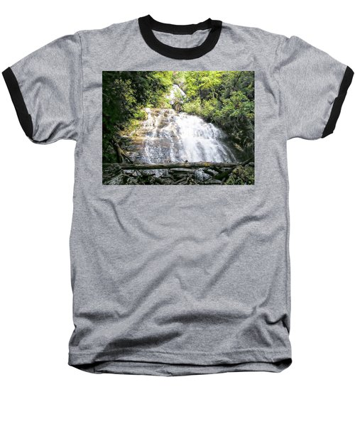 Baseball T-Shirt featuring the photograph Anna Ruby Falls by Jerry Battle