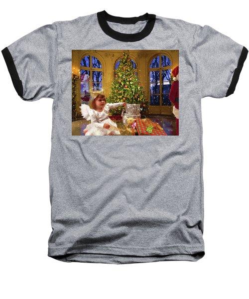 Annalise And Santa Baseball T-Shirt