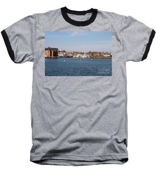 Annapolis City Skyline Baseball T-Shirt