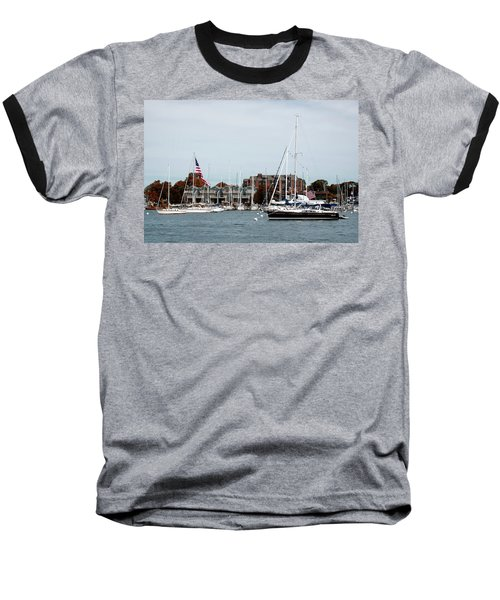 Annapolis Harbor Baseball T-Shirt