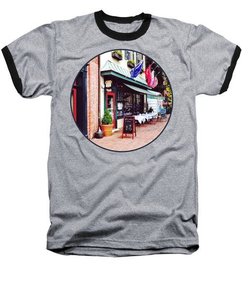 Annapolis Md - Restaurant On State Circle Baseball T-Shirt