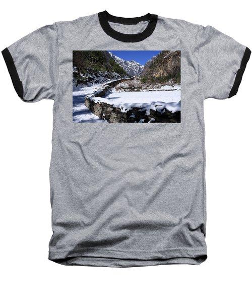 Annapurna Circuit Trail Baseball T-Shirt by Aidan Moran