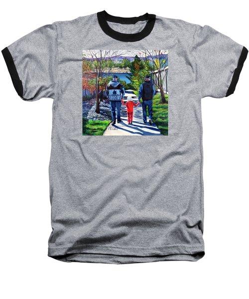 Anna's Grandpa's 2 Baseball T-Shirt by Marilyn McNish