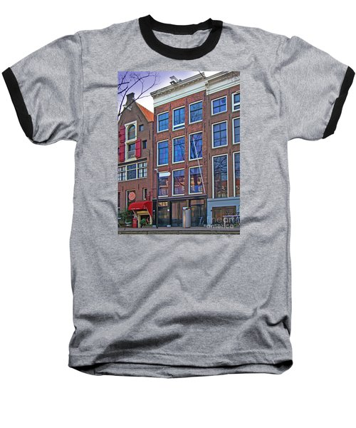 Anne Frank Home In Amsterdam Baseball T-Shirt