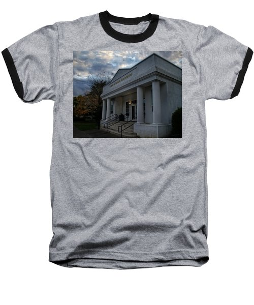 Anne G Basker Auditorium In Grants Pass Baseball T-Shirt by Mick Anderson