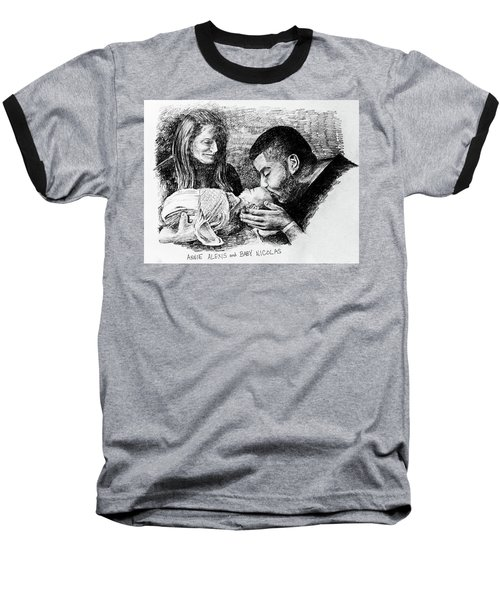 Annie Alexis And Nicolas Baseball T-Shirt