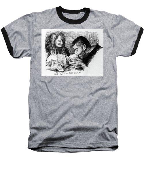 Annie Alexis And Nicolas Baseball T-Shirt