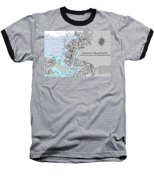Annisquam And Wingaersheek Beach Baseball T-Shirt