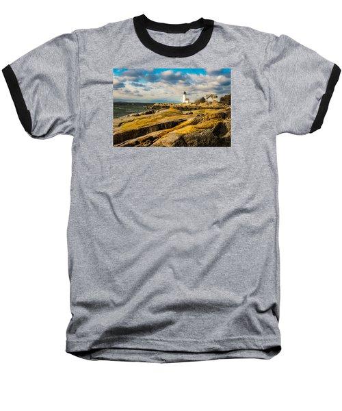 Annisquam Harbor Light Baseball T-Shirt