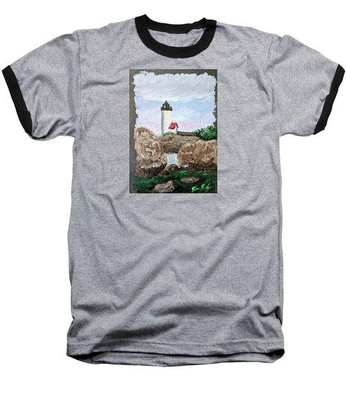 Annisquam Sunset 1 Baseball T-Shirt