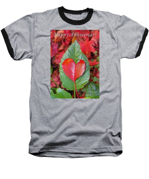 Anniversary Nature Greeting Card Baseball T-Shirt