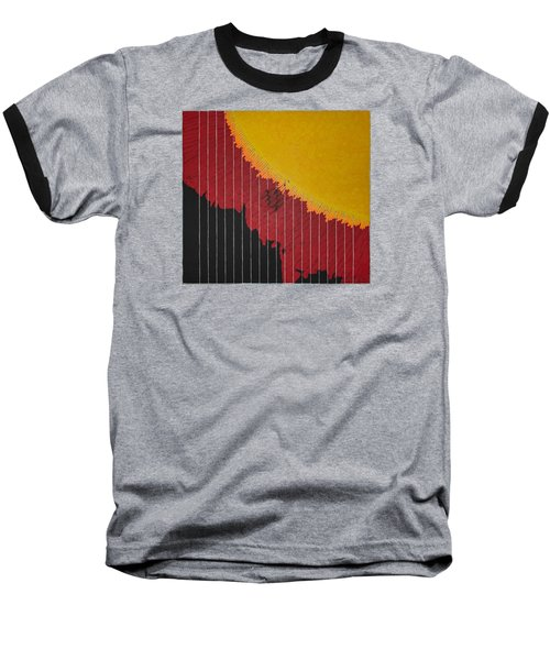 Anomaly At The Sun Baseball T-Shirt