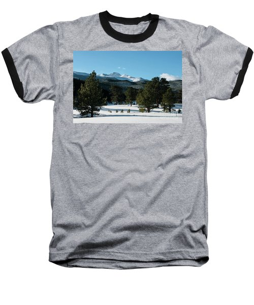 Another Beautiful Day In Rocky Mountain National Park - 0612 Baseball T-Shirt