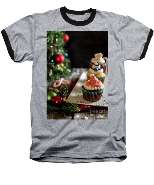 Baseball T-Shirt featuring the photograph Another Christmas To Remember by Deborah Klubertanz