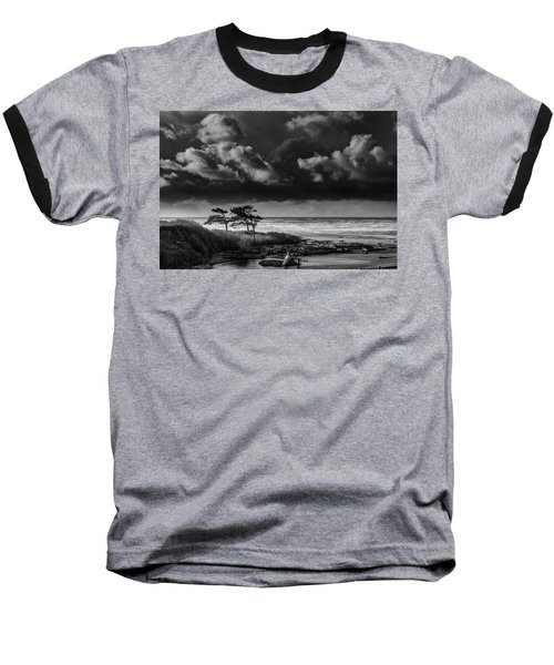 Baseball T-Shirt featuring the photograph Another Day At Kalaloch Beach by Dan Mihai
