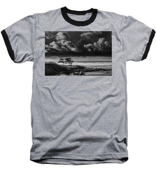 Another Day At Kalaloch Beach Baseball T-Shirt by Dan Mihai