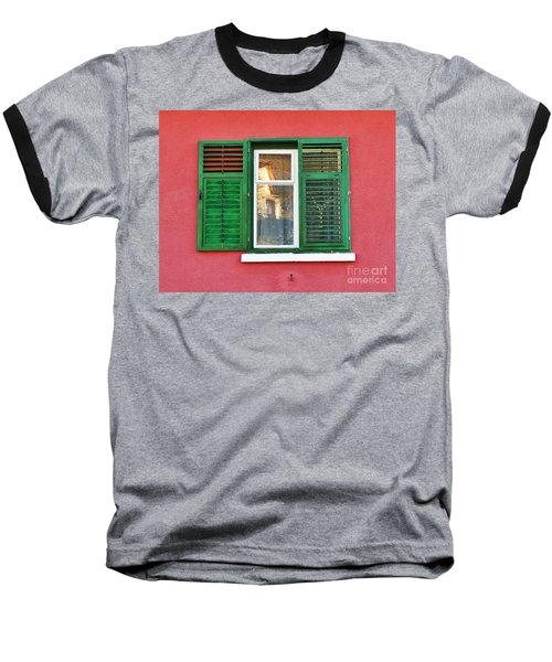 Another Green Shutter Baseball T-Shirt