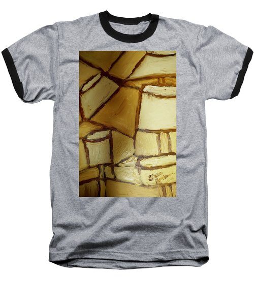 Baseball T-Shirt featuring the painting Another Lamp by Shea Holliman