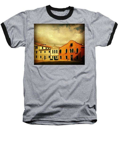 Baseball T-Shirt featuring the photograph Another Malamocco Day by Anne Kotan