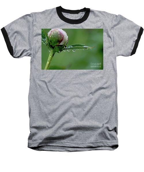 Another Rainy Day Baseball T-Shirt by Yumi Johnson