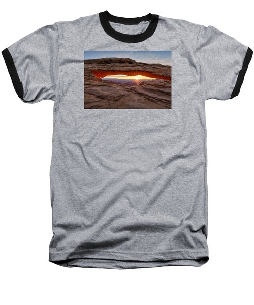 Another Sunrise At Mesa Arch Baseball T-Shirt