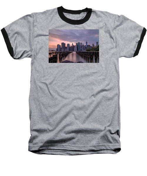 Another Sunset  Baseball T-Shirt by Anthony Fields