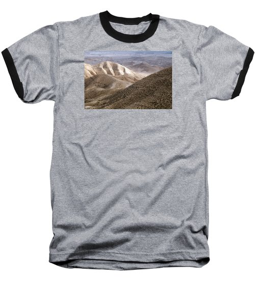 Another View From Masada Baseball T-Shirt by Dubi Roman