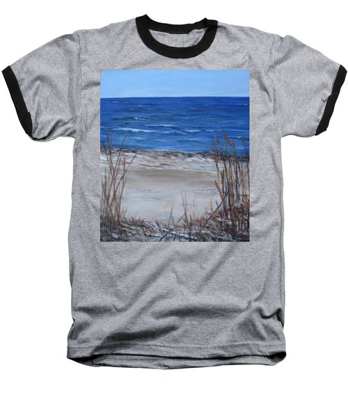 Another View Of East Point Beach Baseball T-Shirt