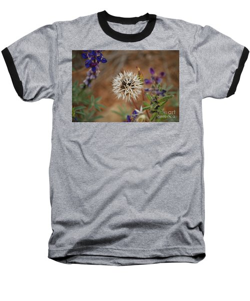 Another White Flower Baseball T-Shirt