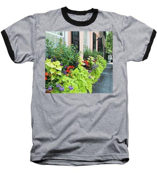 Anson St. Baseball T-Shirt by Ed Waldrop