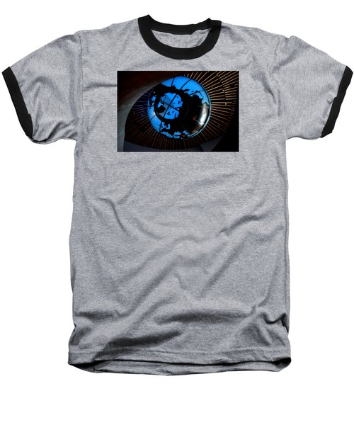 Antarctica Baseball T-Shirt by David Gilbert